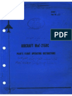 MiG-21Bis Pilots Flight Operating Instruction