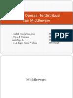 Sistem Terdistribusi dan middleware