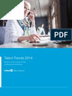 Linkedin Talent Trends 2014 en Us