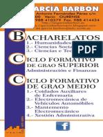 formación 2014-2015