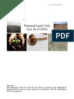 National Land Code 1965 (Act 56) (Malaysia)