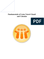 Fundamentals of Lotus Notes Email and Calendar