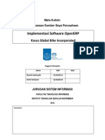 Implementasi Software OpenERP Kasus Global Bike Incorporated