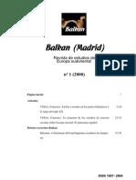 Balkan (Madrid) 1 (2000)