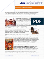 Places of Interest Around the Kathmandu Valley