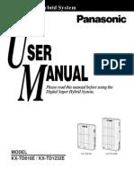 KX-TD Version 4 User Manual