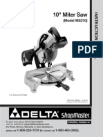 Delta Chopsaw Manual 36-070