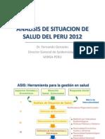 1clase - anlisis de situacin de salud en el per 2012