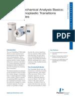 DMA Basics Part 2 - Polymer Transitions