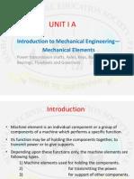 Unit 1 Machine Elements