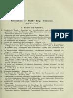 Riemann Festschrift 著作・作品リスト