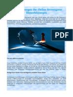 Vergünstigungen der Online Investigator Dienstleistungen