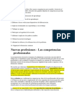 Philippe Perrenoud en Su Libro Diez Nuevas Competencias Para Enseñar