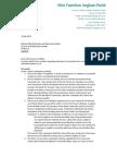 Michael Hewat Letter of Resignation