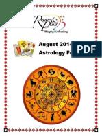 August 2014 Tarot Forecast
