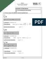 Mathcad - Applications of Derivatives