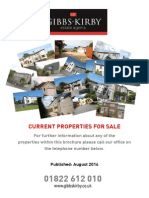 Latest Property Brochure August