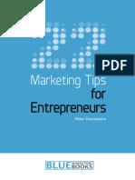 22 Marketing Tips for Entrepren - Peter Desmyttere