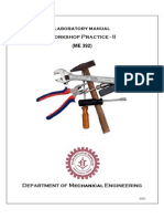 Mechanical Engineering_Workshop Practice_Laboratory Manual