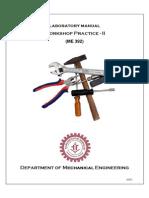Mechanical Engineering_Workshop Practice_Laboratory Manual