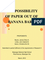 97811842 Paper Out of Banana Bark SIP
