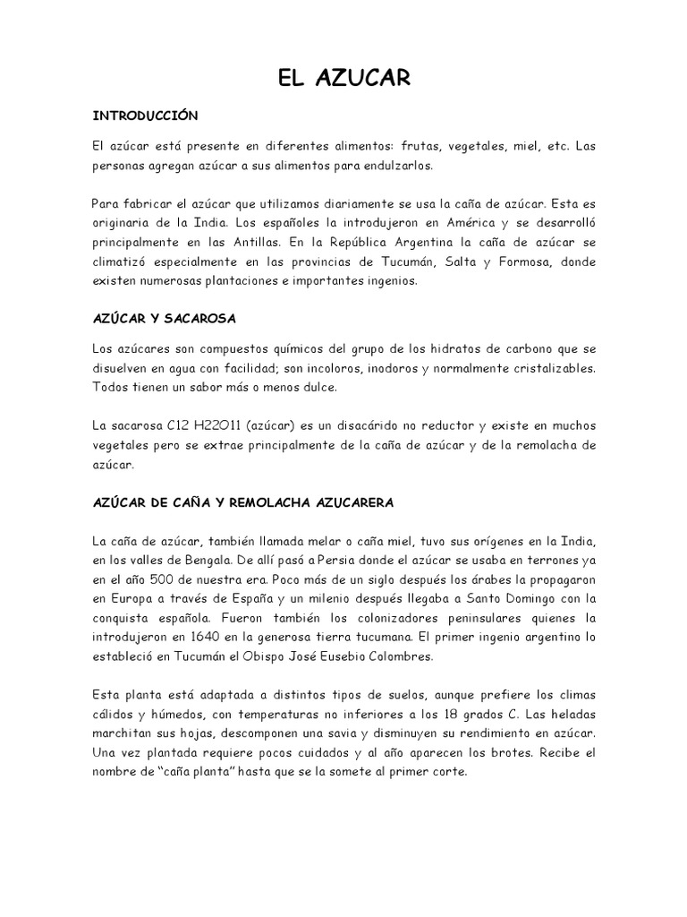 EL AZUCAR.docx   Melaza   Azúcar morena