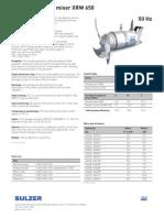 ABS Submersible Mixer XRW 650