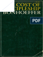 The Cost of Discipleship - Bonhoeffer