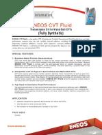 Eneos-Bulgaria ENEOS CVT Fluid2012