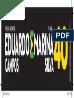 Eduardo e Marina ADESIVO_PRETO_30x5,5cm