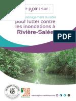 Mise hors d'eau de la ville de Rivière Salée