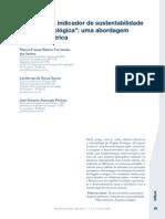 Texto 2 - Indicadores Pegada Ecologica