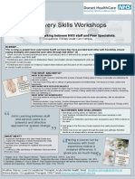 Recovery Skills Workshop Collaborative Working Between NHS Staff and Peer Specialists