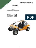 Kinroad neues Handbuch 650-800-1100cc