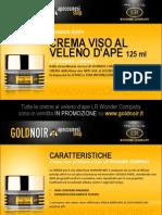 "Crema viso al VELENO D'APE ""Wonder Bee"" LR WONDER su www.goldnoir.it"