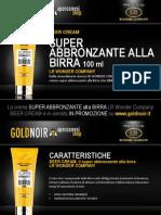 "Crema SUPER ABBRONZANTE ALLA BIRRA ""Beer Cream"" LR WONDER su www.goldnoir.it"