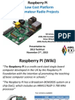 Raspberry Pi TechFest 2013 KA8JMW N5ZGT