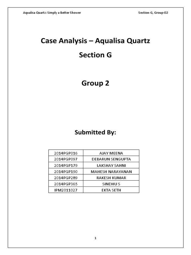 aqualisa quartz problem solving