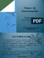 Maria Esperanza Benavides Factorizacion