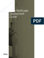 Citrix Netscaler Deployment Guide