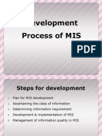 Development Process of MIS (2)