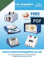 Science Supplies Catalogue - 2014/15