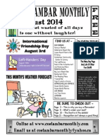 Costambar Monthly August 2014