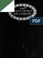 The Lost Cities of Ceylon