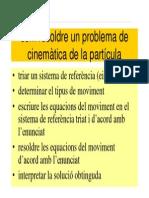 Per Resoldre Un Problema de Cinematica