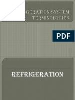 Refrigeration System Terms