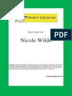 Jan 22, 2014  Nicole Wilde