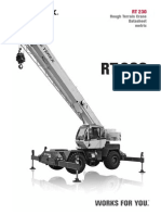 Terex RT230 Tabla de Carga