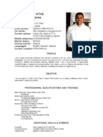 Curriculum en ingles septiembre 09
