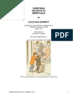 Christmas Holidays at MerryvaleThe Merryvale Boys by Burnett, Alice Hale